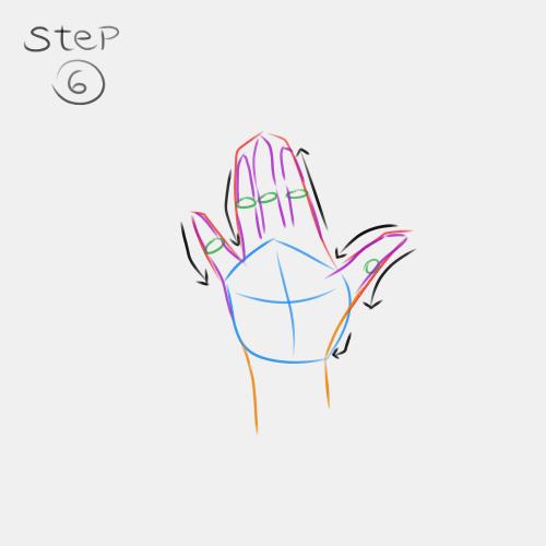 Anime Hand Palm View 6
