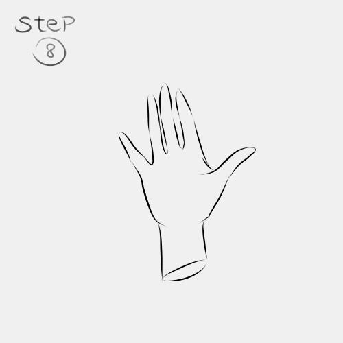 Anime Hand Palm View 8