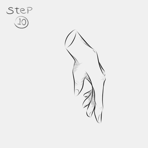 Anime Hand Side View 10