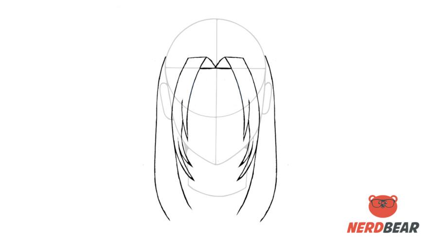 How To Draw Male Anime Hair Long Hair 5