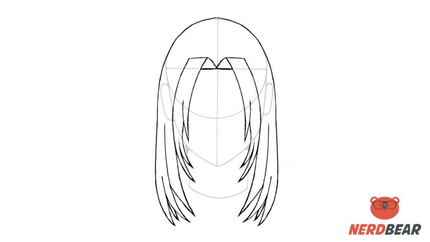 How To Draw Male Anime Hair Long Hair 7