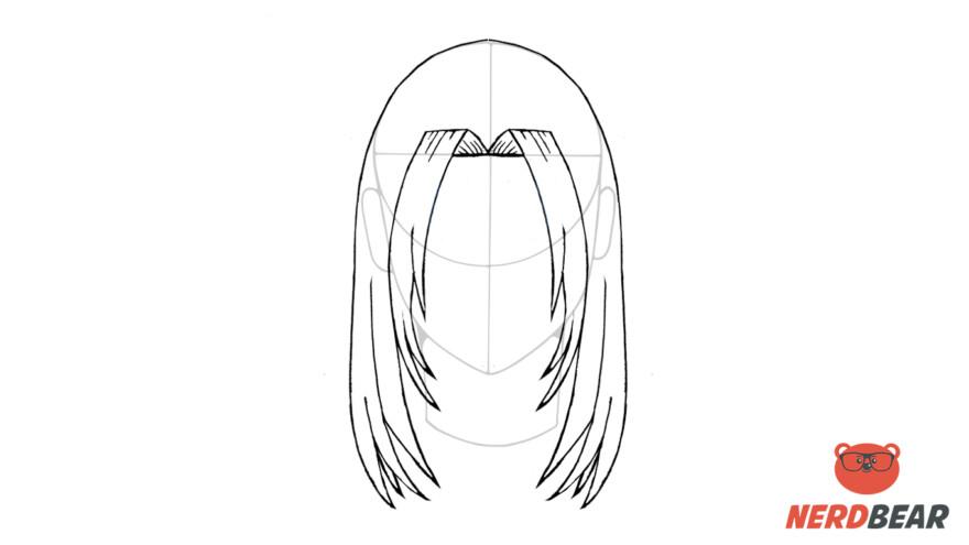 How To Draw Male Anime Hair Long Hair 8