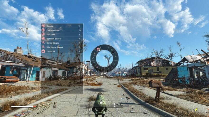 Fallout 4 Wheel Menu