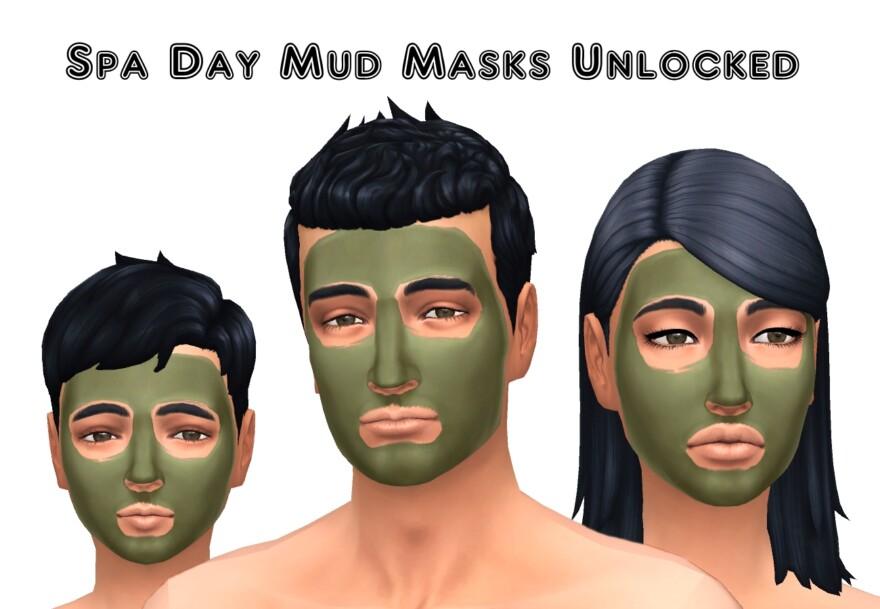 Spa Day Mud Masks