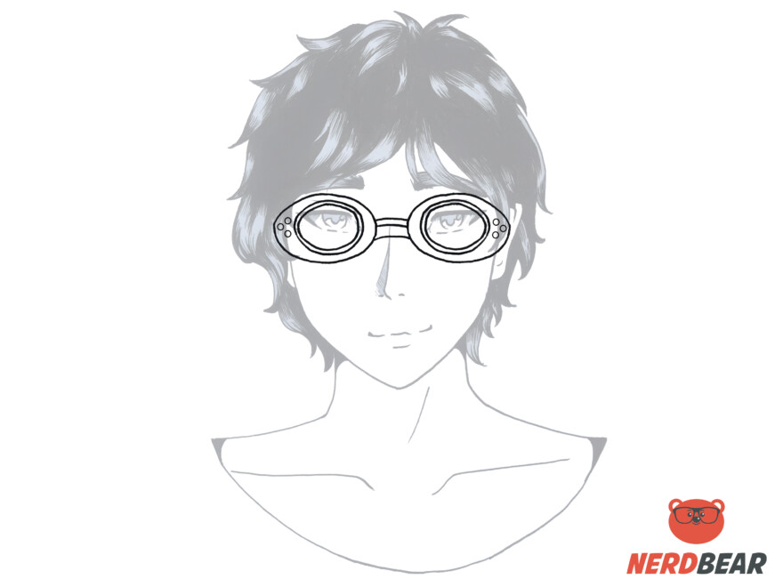 How To Draw Anime Steampunk Goggles 4
