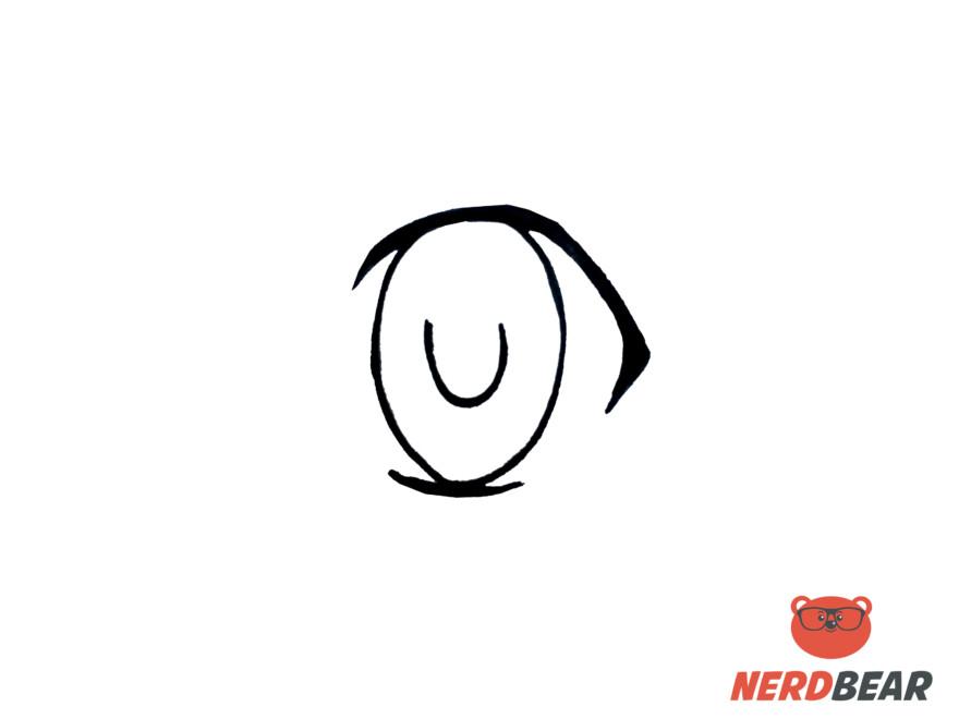 How To Draw Big Feminine Anime Eyes 2
