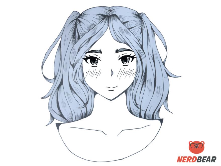 How To Draw Bright Cheek Anime Blush 1