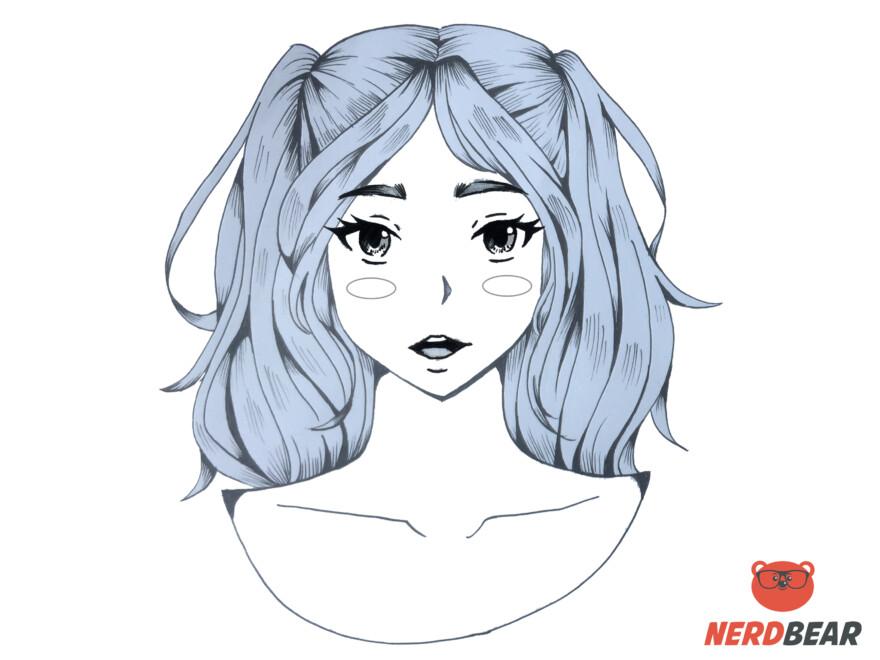 How To Draw Circular Anime Bush 1