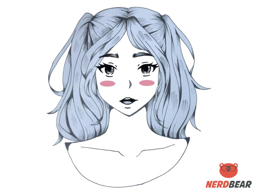 How To Draw Circular Anime Bush 3
