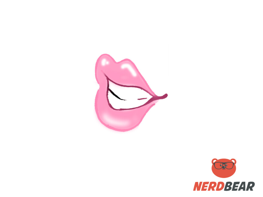 How To Draw Open Side Profile Anime Lips 7