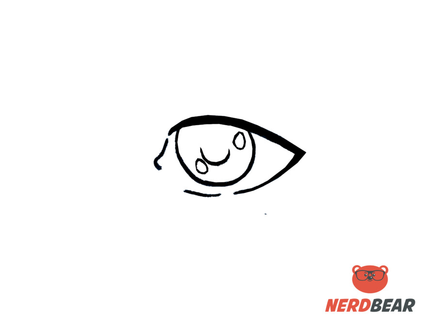 How To Draw Realistic Anime Eyes 4