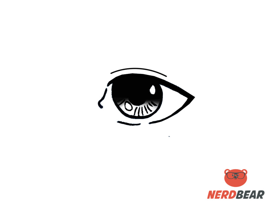 How To Draw Realistic Anime Eyes 8