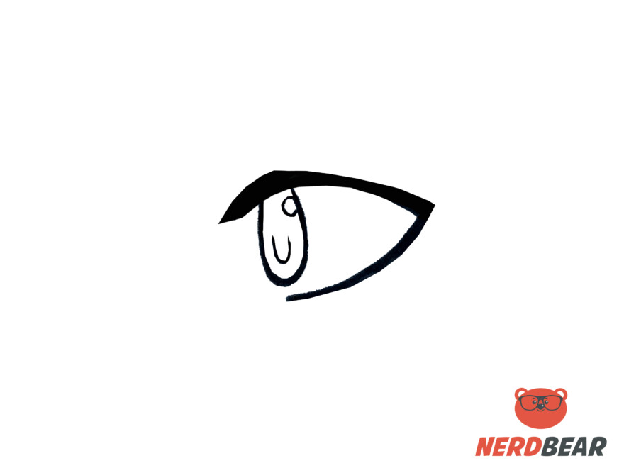 How To Draw Side Profile Anime Eyes 3