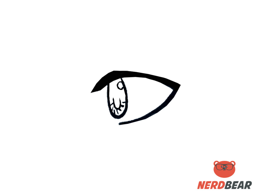 How To Draw Side Profile Anime Eyes 4