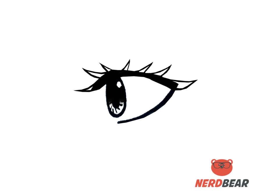 How To Draw Side Profile Anime Eyes 7