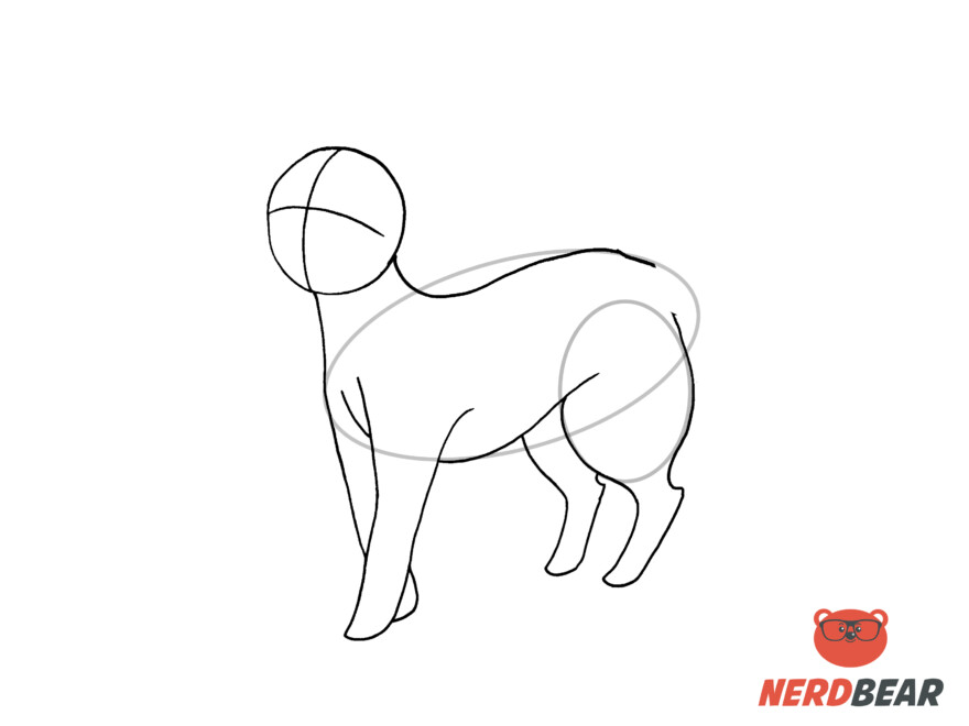 How To Draw A Standing Anime Cat 9