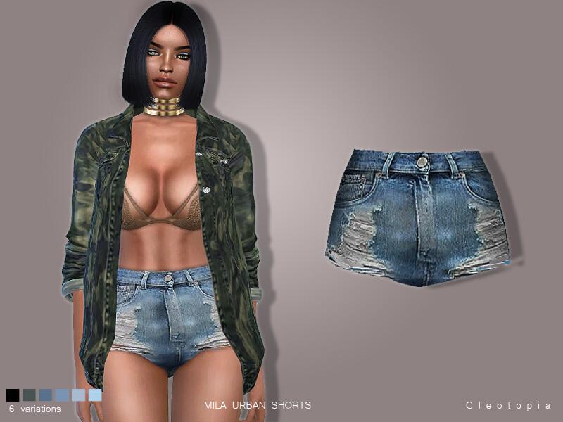 Mila Urban Shorts Set 77