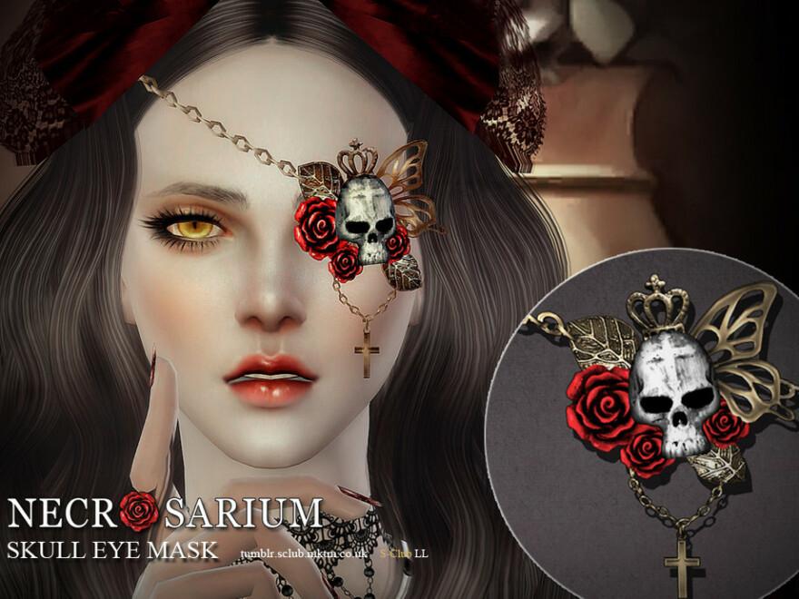Skull Eye Mask