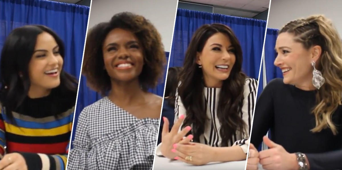 Nerdeek Life Riverdale-Cast-Wondercon-2017 WonderCon 2017: Riverdale cast on raising the bar for Archie fans, diversity and season finale shockers! Conventions