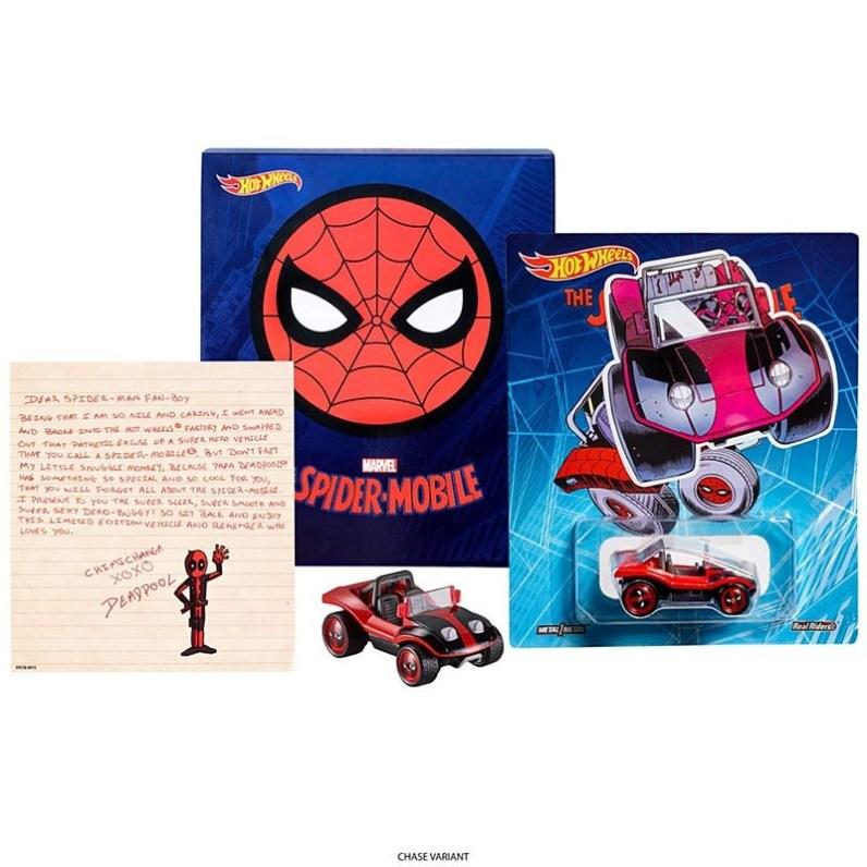 Mattel Hot Wheels San Diego Comic-Con exclusive Deadpool-Mobile sdcc 2017 exclusive 3