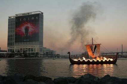 Nerdeek Life 820561626-1 The History Channel Actually Held a Viking Funeral at Comic Con Conventions