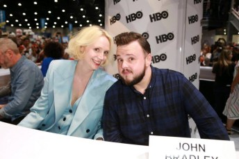 The cast of Game of Thrones at San Diego Comic-Con 2017 Signing