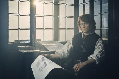 Sam Heughan (Jamie Fraser)- Outlander Season 3