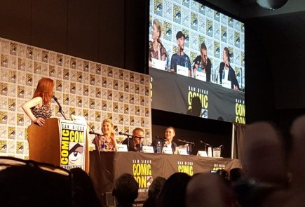 "Nerdeek Life Vikings-SDCC-Panel-1 HISTORY's Vikings: ""There's only one Queen in Kattegat."" Conventions"