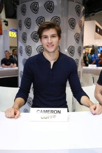 Cameron Cuffe at Krypton signing
