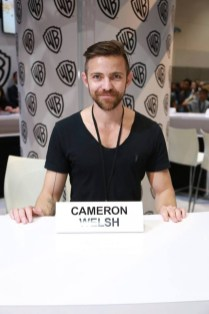Executive producer Cameron Welsh at Krypton signing