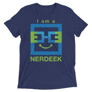 Nerdeek Life mockup-e507723c Short sleeve t-shirt