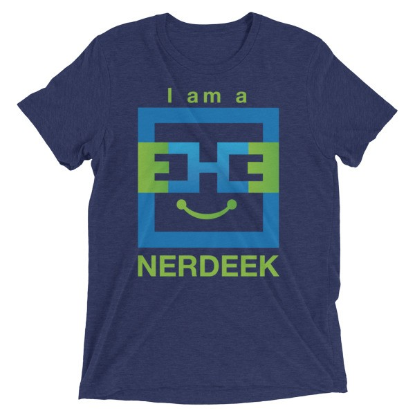 Nerdeek Life mockup-e507723c Short sleeve t-shirt