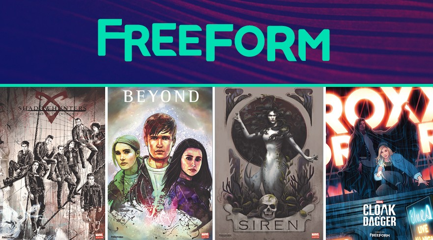 Nerdeek Life Freeform-Activations Freeform Brings Its Series To Life At NYCC 2017 Conventions Nerdeek Life Sci-fi