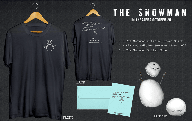 Nerdeek Life The-Snowman-Giveaway 'The Snowman' Giveaway: We give you all the clues on how to win your own prize pack! Movie News Nerdeek Life