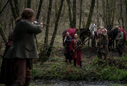 "Nerdeek Life outlander-4x05-16 Who is the real savage in Outlander's ""Savages""? Nerdeek Life Roundtables"