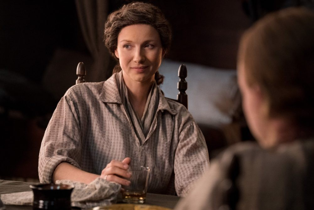 "Nerdeek Life Outlander-4x09-3 We're learning about the ""Birds and the Bees"" on this week's Outlander Nerdeek Life Roundtables"