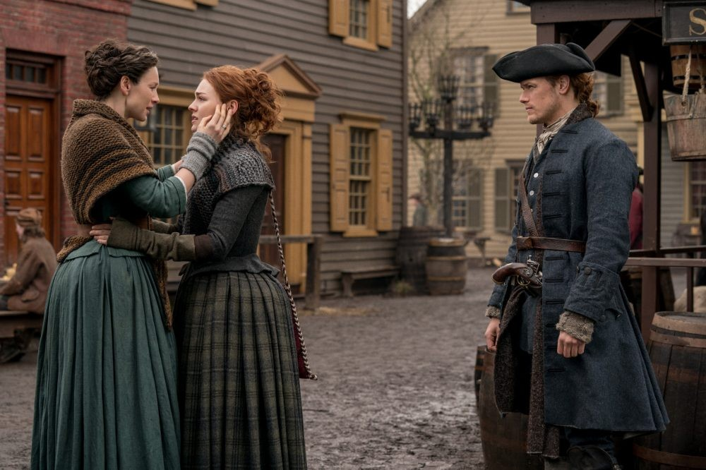 "Nerdeek Life Outlander-4x09-6 We're learning about the ""Birds and the Bees"" on this week's Outlander Nerdeek Life Roundtables"