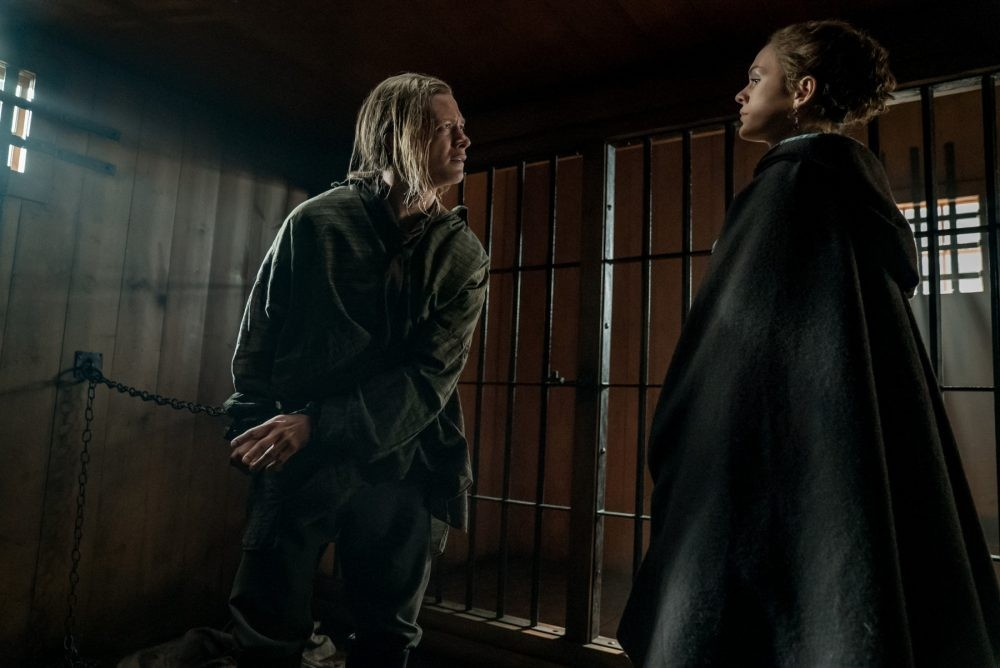"""Nerdeek Life Outlander-4x12-4 Was it """"Providence"""" for Roger and our Roundtable on this week's Outlander? Nerdeek Life Roundtables"""