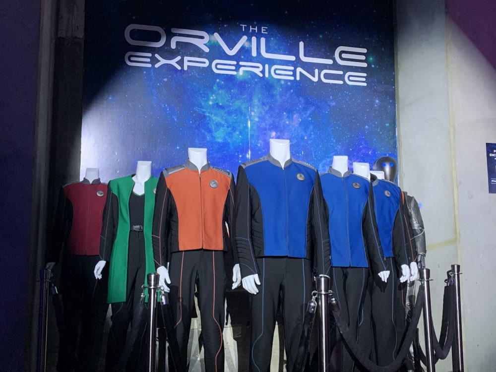 Costumes from The Orville Experience