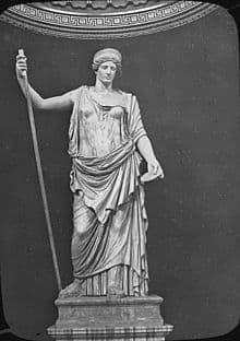 Juno'nun Vatikan'da bulunan heykeli