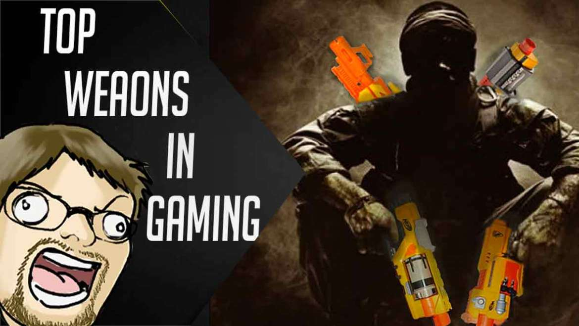 NEH Podcast Top weapons in gaming