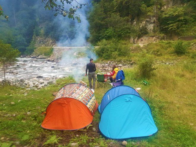 Çat Vadisi kamp alanımız