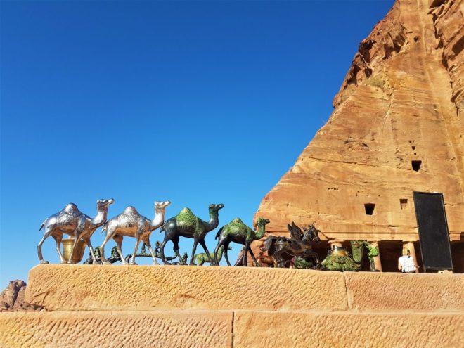 Petra'da ki hediyelik eşyalar