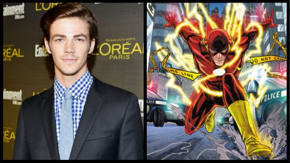 ++ BREAKING NEWS: Grant Gustin sarà Barry Allen nella seconda stagione di Arrow ++