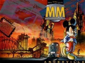 """Copertina di MMMM #0, """"Anderville"""", uscito nel maggio 1999"""