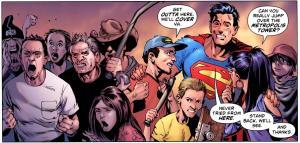 Con la riscrittura di Grant Morrison targata New 52, Superman è di nuovo il campione degli oppressi.
