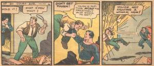 Il Superman Golden Age aveva molto a cuore le vite della gente comune...