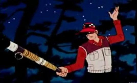 Ah, non ve l'ho detto? Pyoshin è pure avvocato e maestro di sciabola, tanto che in una puntata menerà dei malviventi usando la canna da pesca a mo' di spada. In ogni caso questo non c'entra niente con le indagini, ma mi premeva dirlo comunque.