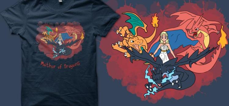 daenerys mother of pokemon quertee