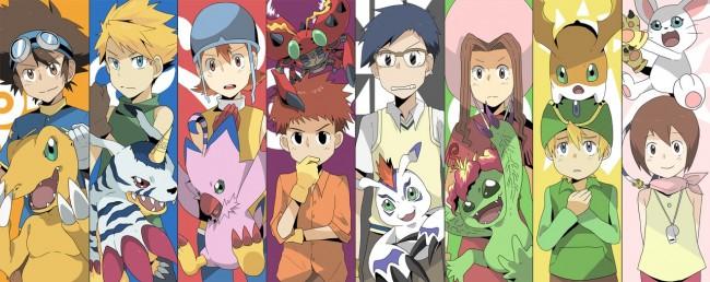 La nuova serie dei Digimon…con i personaggi (cresciuti) di 15 anni fa!